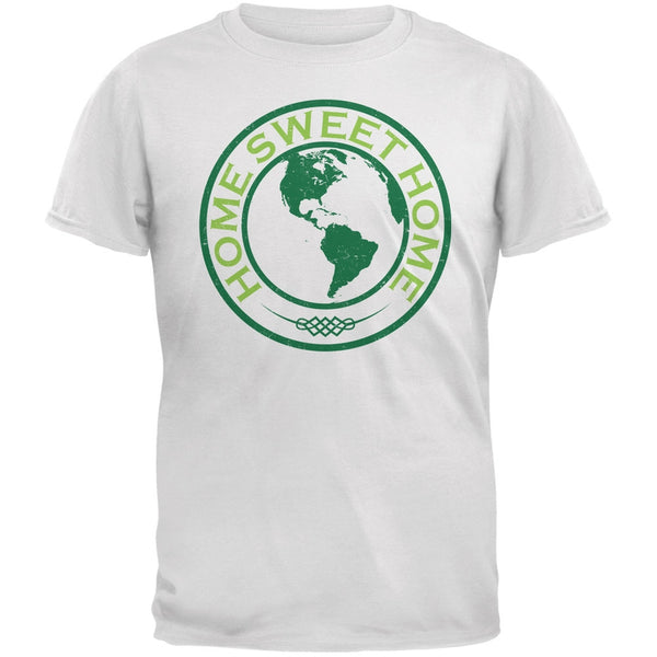 Earth Day - Home Sweet Home White Adult T-Shirt