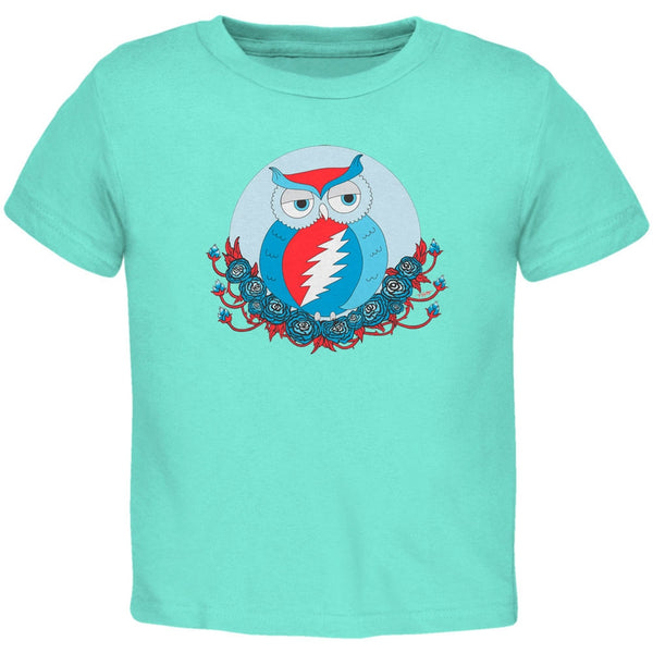 Grateful Dead - Steal Your Face Owl Chill Toddler T-Shirt