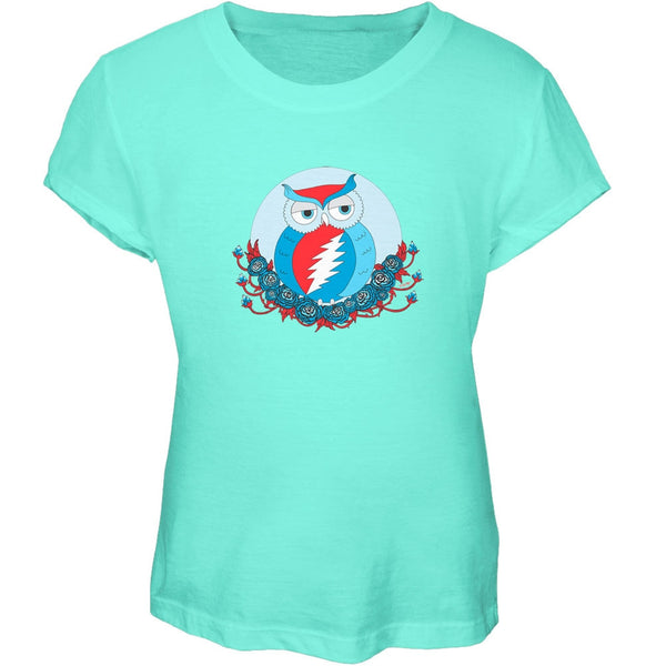 Grateful Dead - Steal Your Face Owl Chill Girls Youth T-Shirt
