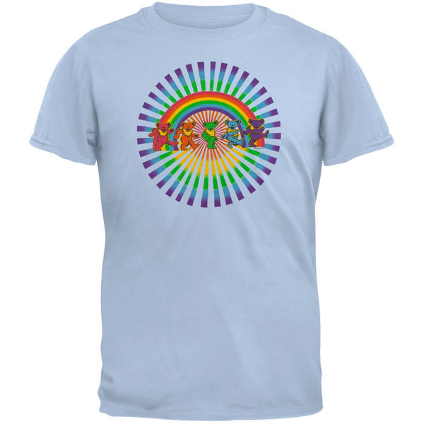 Grateful Dead - Rainbow Bears Light Blue Youth T-Shirt