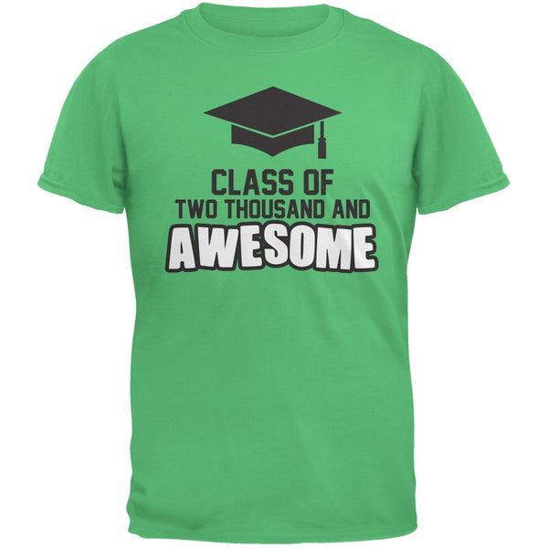 Two Thousand and Awesome Irish Green Adult T-Shirt