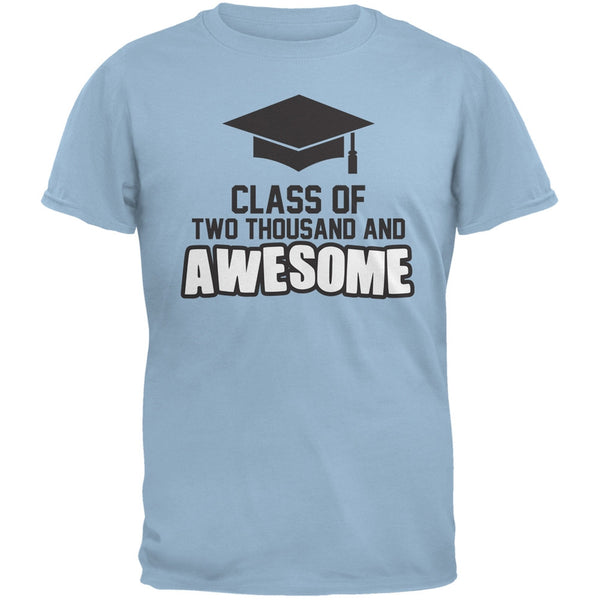 Two Thousand and Awesome Light Blue Adult T-Shirt