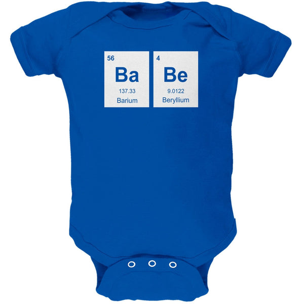 Baby - BaBe Periodic Elements Royal Soft Baby One Piece