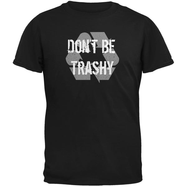 Earth Day - Don't Be Trashy, Recycle Black Youth T-Shirt