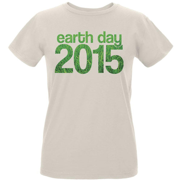 Earth Day - 2015 Grass Women's Organic Natural T-Shirt