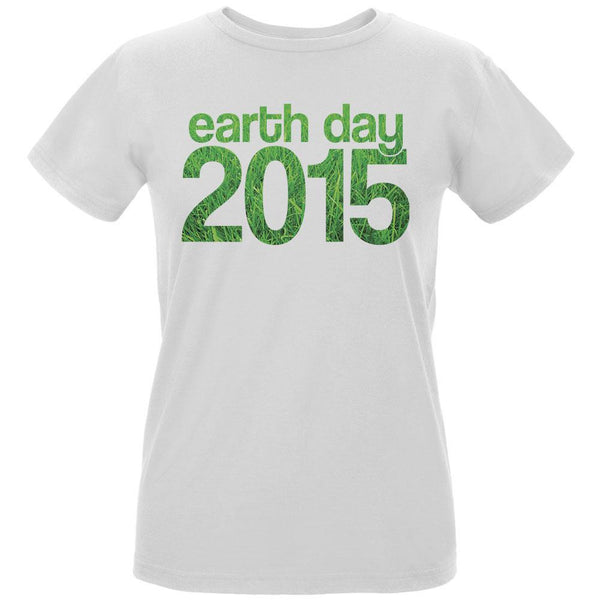 Earth Day - 2015 Grass Women's Organic White T-Shirt