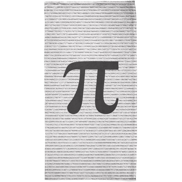 Pi Numbers 3.14 All Over Beach Towel