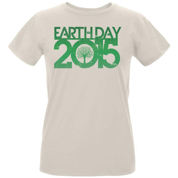 Earth Day - 2015 Tree Women's Organic Natural T-Shirt