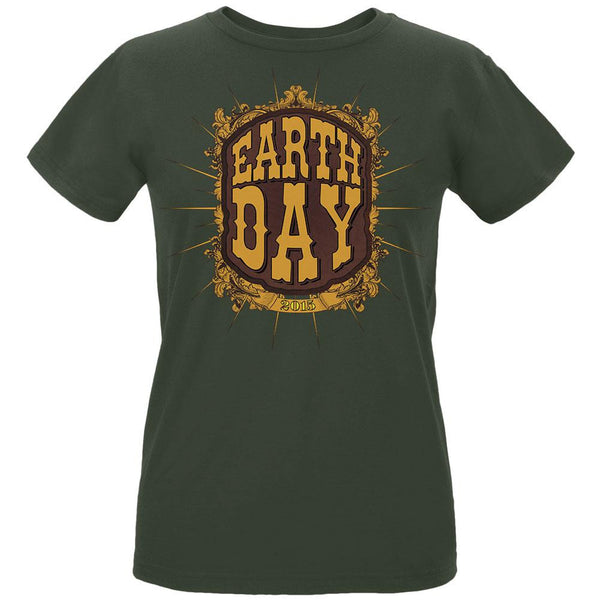 Earth Day - Vintage Earth Day 2015 Women's Organic City Green T-Shirt