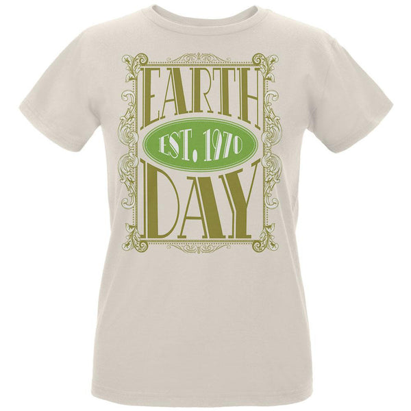Earth Day - Vintage Earth Day Est. 1970 Women's Organic Natural T-Shirt