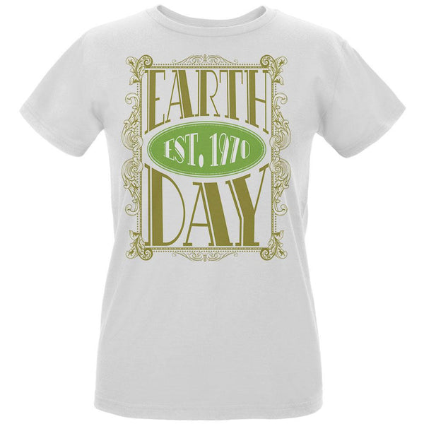 Earth Day - Vintage Earth Day Est. 1970 Women's Organic White T-Shirt