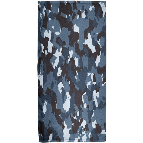Urban Camo All Over Bath Towel
