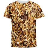 Bullets All Over Adult T-Shirt