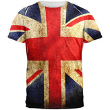 British Flag All Over Adult T-Shirt