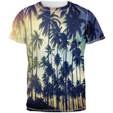 Palm Trees All Over Adult T-Shirt