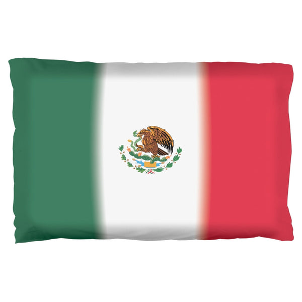 Mexican Flag Pillow Case