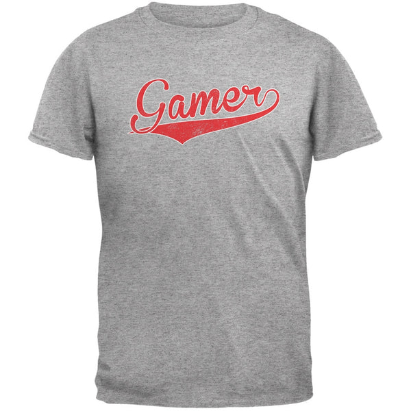 Gamer Heather Grey Adult T-Shirt