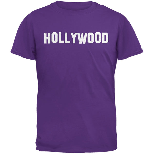 Hollywood Purple Adult T-Shirt