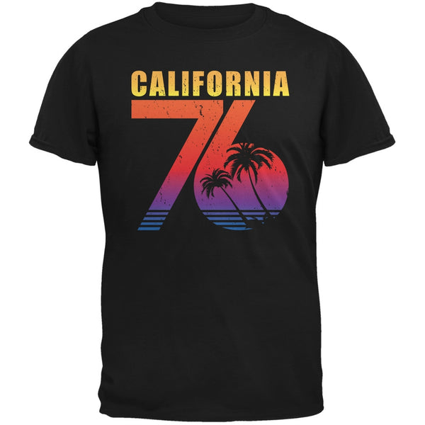 California 76 Black Adult T-Shirt
