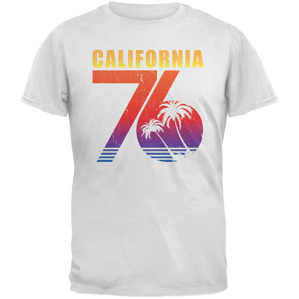 California 76 White Adult T-Shirt