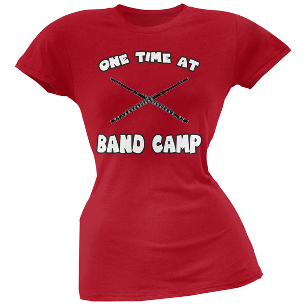Band Camp Red Soft Juniors T-Shirt
