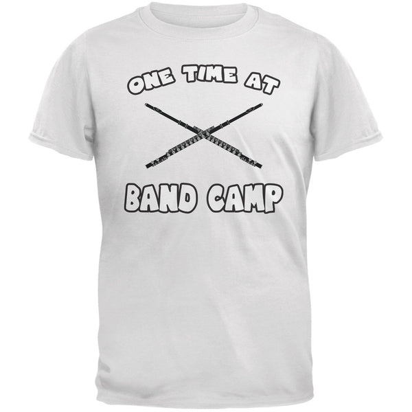 Band Camp White Adult T-Shirt