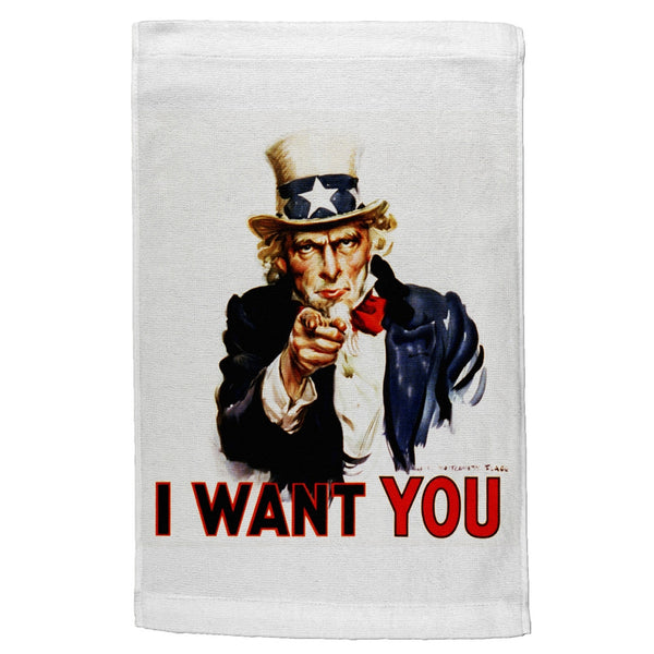 Uncle Sam Wants You Sport Towel