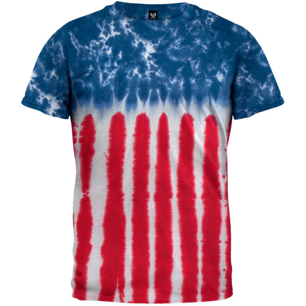 Stars and Stripes Tie Dye T-Shirt