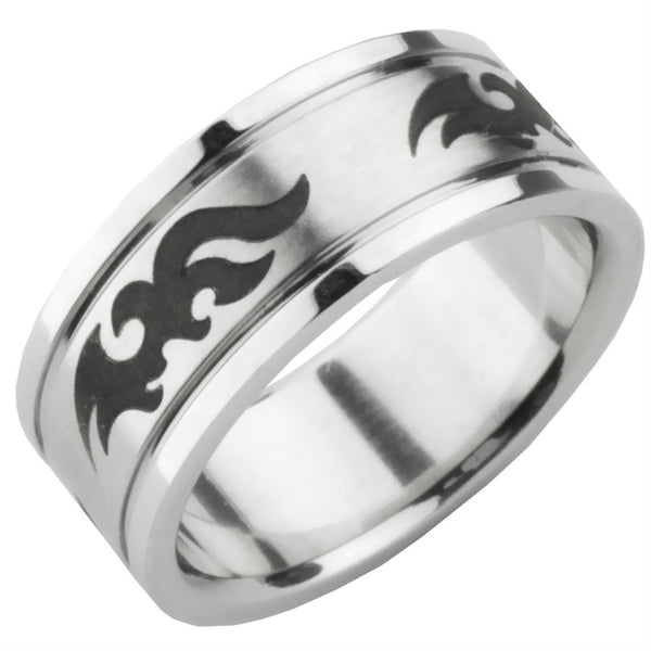 Tribal Pent Ring Band