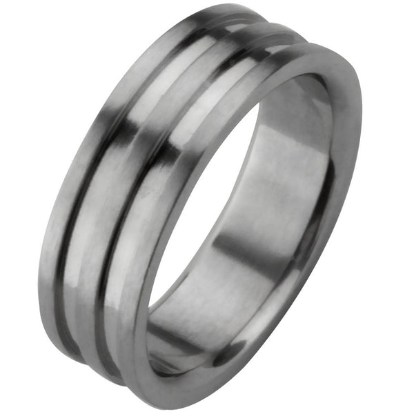 Striped Ring Band
