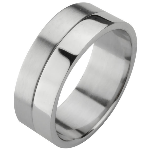 2-Piece Unscrewable Ring Band