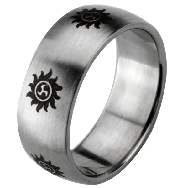Sun Stainless Steel Ring