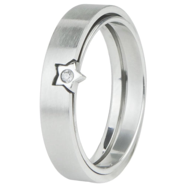 2-Piece Star & Gem Ring