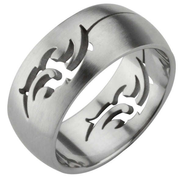 Tribal Cutout Ring