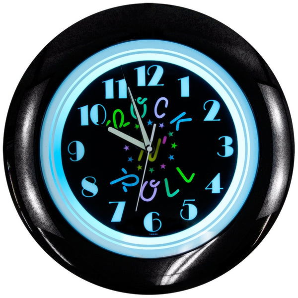 Rock 'N' Roll - Light-Up Clock