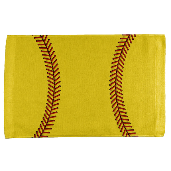Softball All Over Sport Towel
