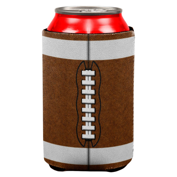 Football All Over Can Cooler