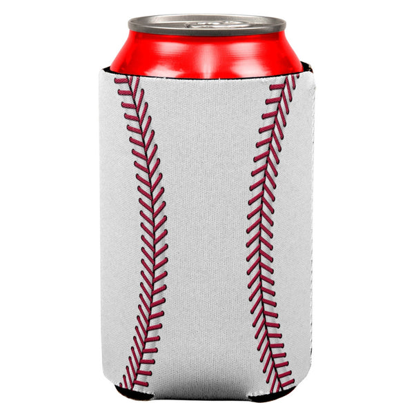 Baseball All Over Can Cooler