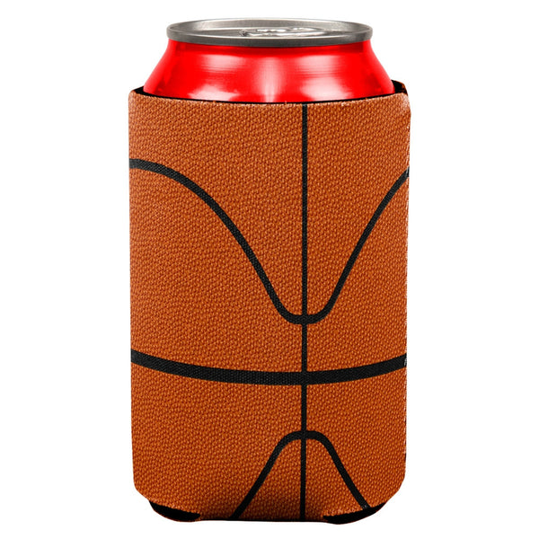 Basketball All Over Can Cooler