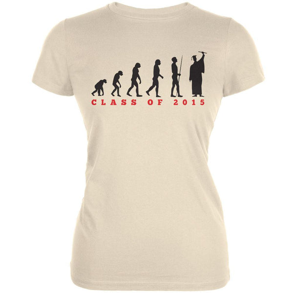 Graduation - Evolution Cream Juniors Soft T-Shirt