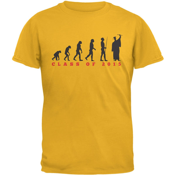 Graduation - Evolution Gold Adult T-Shirt