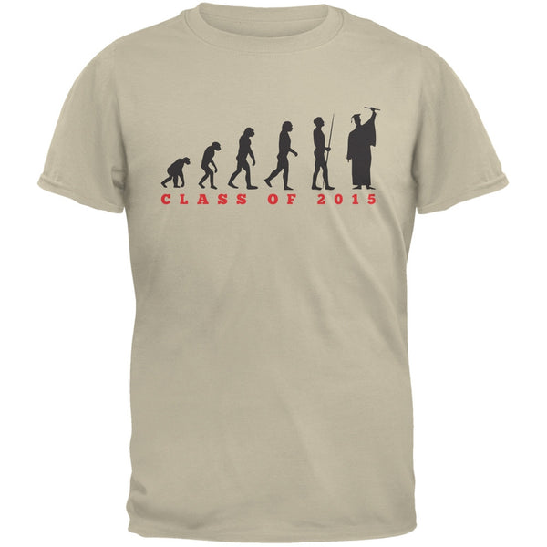 Graduation - Evolution Sand Adult T-Shirt