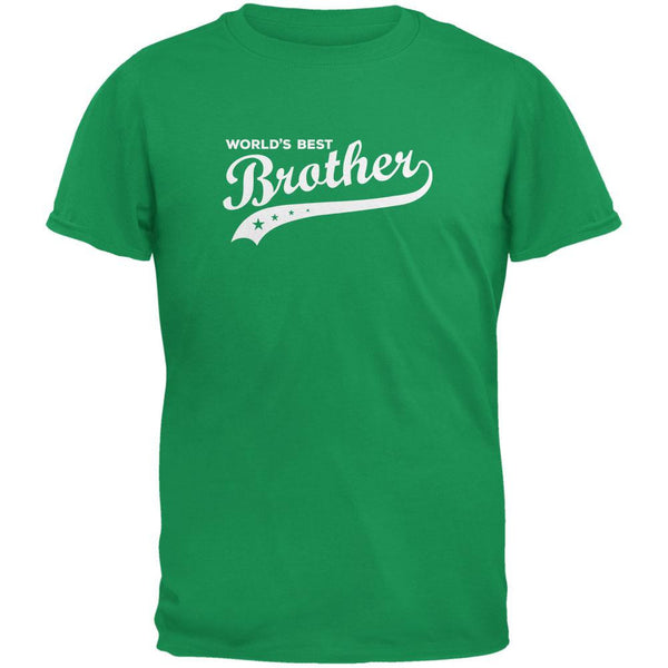 World's Best Brother Irish Green Youth T-Shirt
