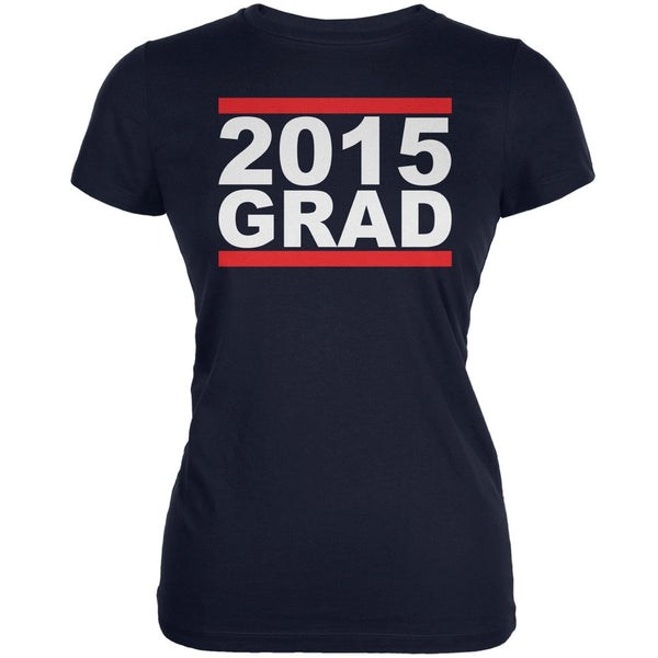 Graduation - Grad 2015 Navy Juniors Soft T-Shirt