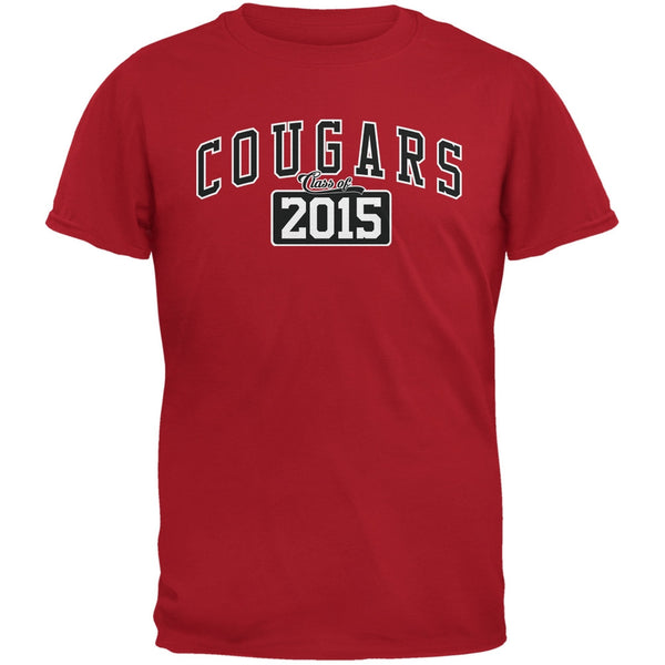 Graduation - Cougars Class of 2015 Red Adult T-Shirt