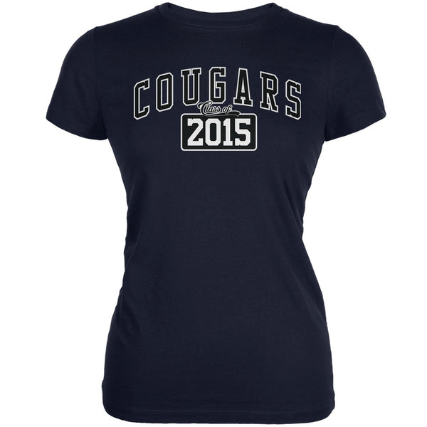 Graduation - Cougars Class of 2015 Navy Juniors Soft T-Shirt