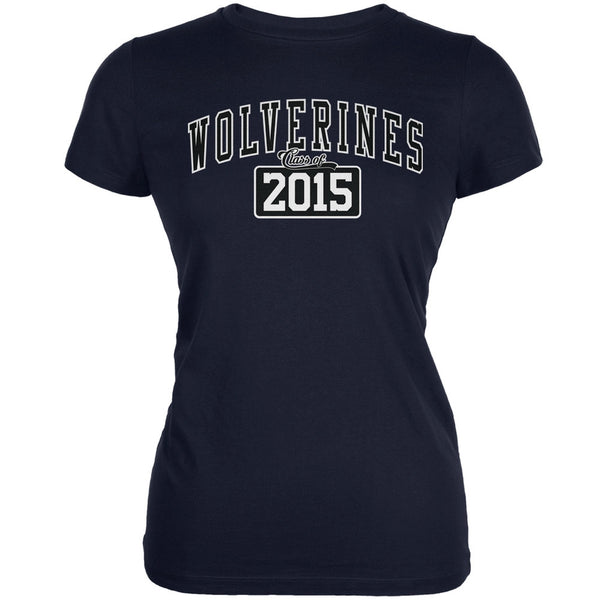 Graduation - Wolverines Class of 2015 Navy Juniors Soft T-Shirt