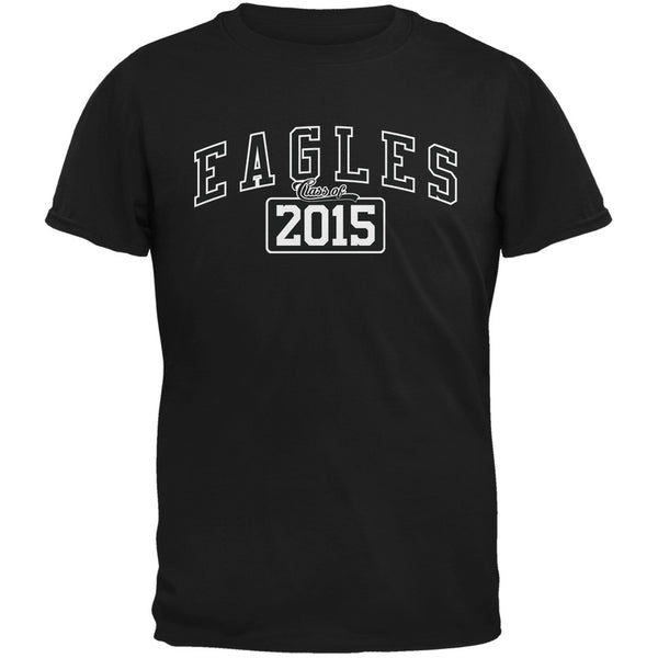 Graduation - Eagles Class of 2015 Black Adult T-Shirt