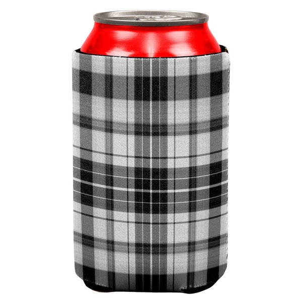 Plaid Can Cooler