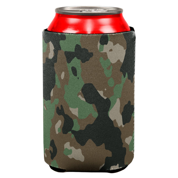 Jungle Camo Can Cooler